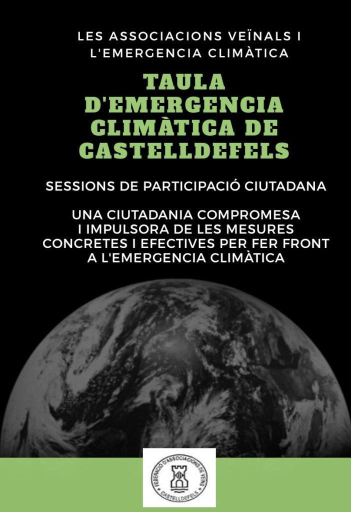 Les associacions veïnals i l'emergència climàtica