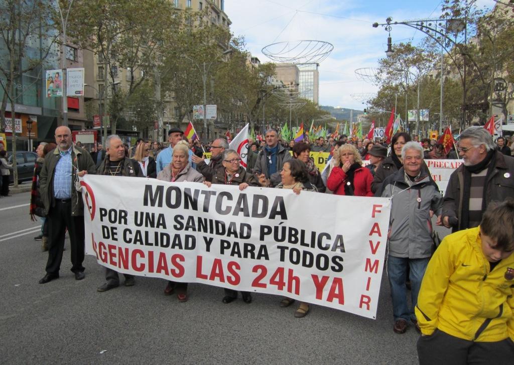 Lluita pel servei d'urgència nocturn de la sanitat pública a Montcada i Reixac